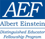 Albert Einstein Distinguished Educator Fellowship Logo